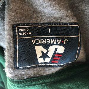 j america Other - Oregon ducks hoodie zip up men's size large EUC